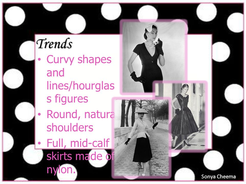 Trends Curvy shapes and lines/hourglass figures