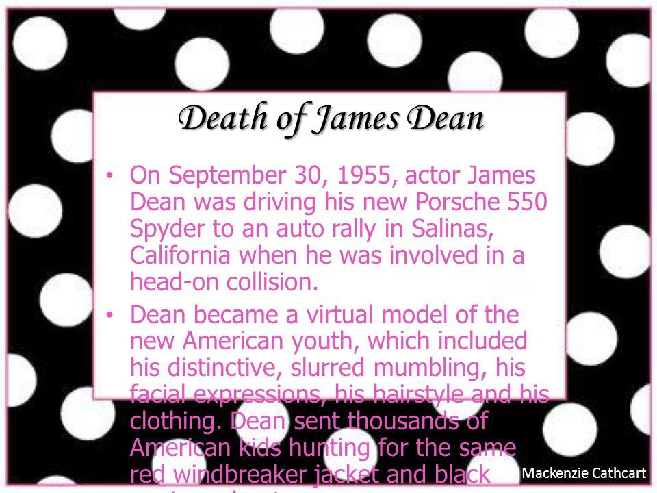 Death of James Dean