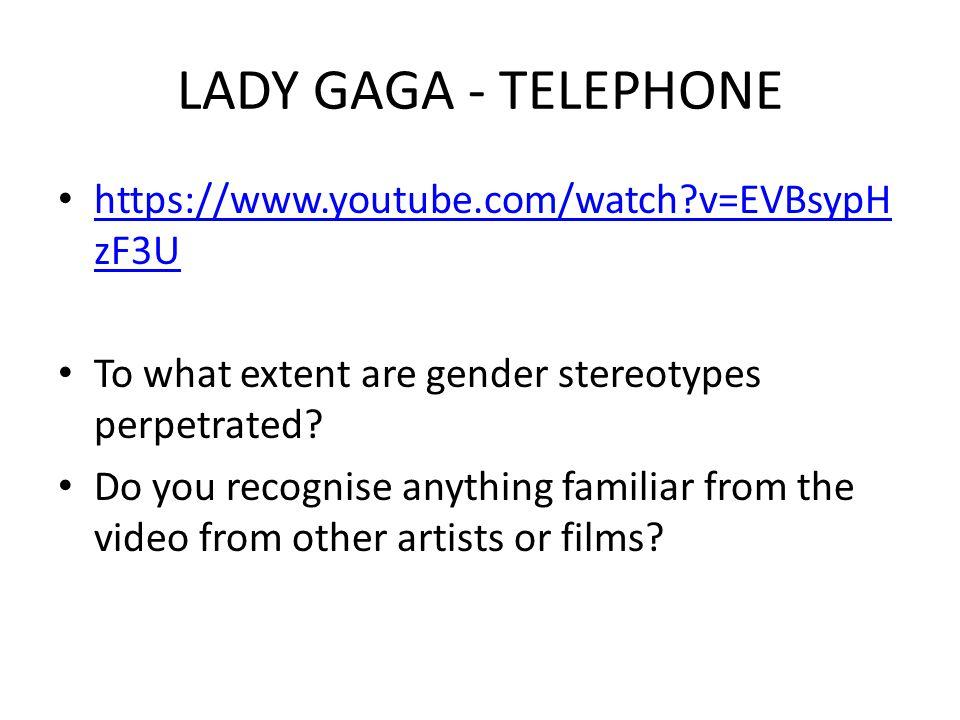 LADY GAGA - TELEPHONE https://www.youtube.com/watch v=EVBsypHzF3U