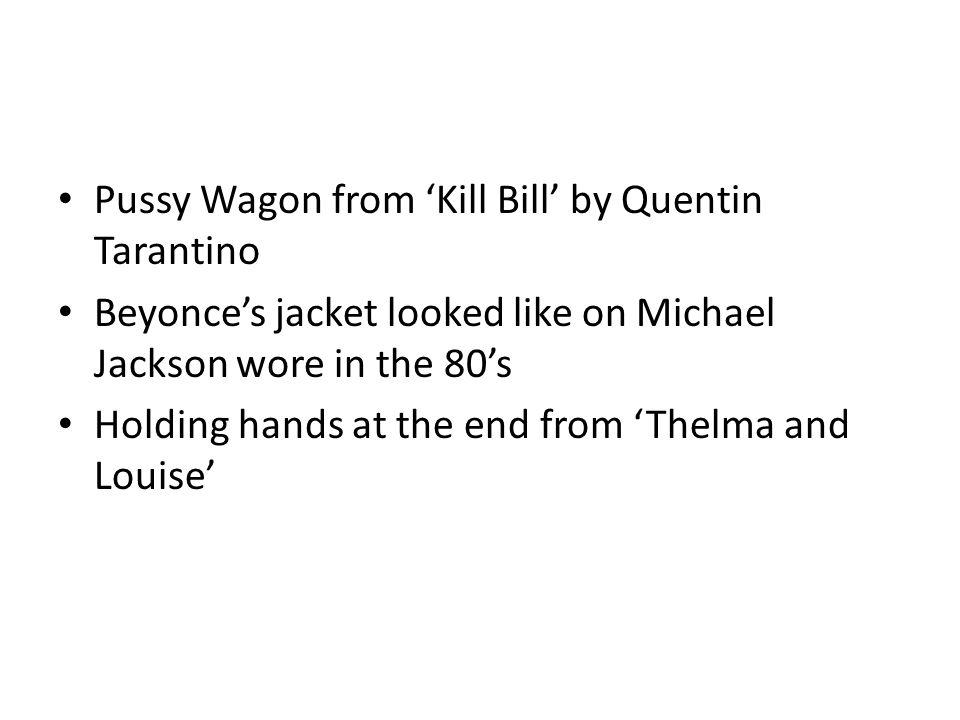 Pussy Wagon from 'Kill Bill' by Quentin Tarantino