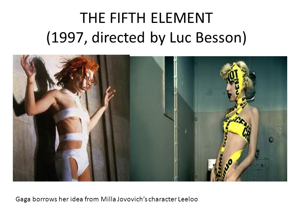 THE FIFTH ELEMENT (1997, directed by Luc Besson)
