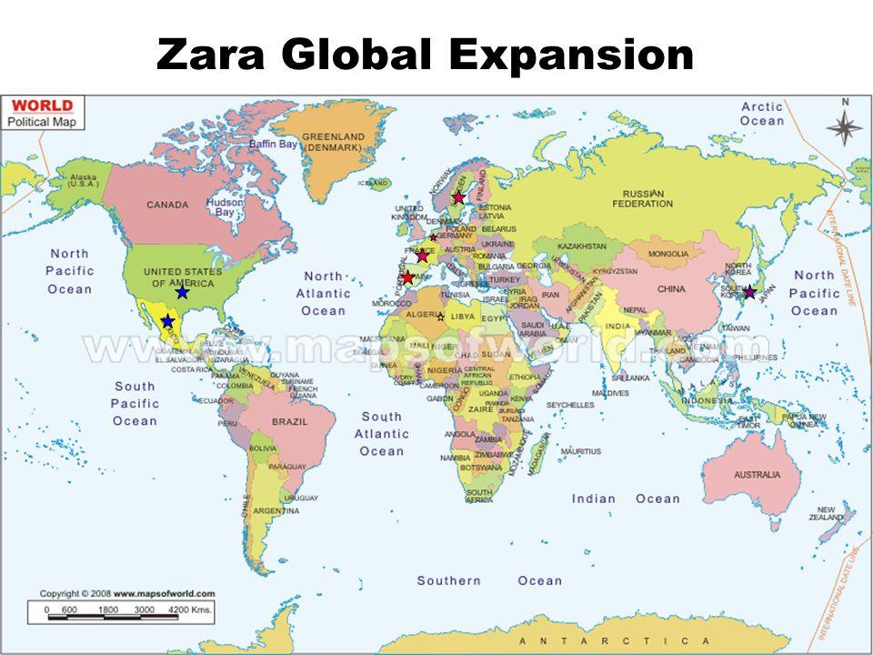 Zara Global Expansion