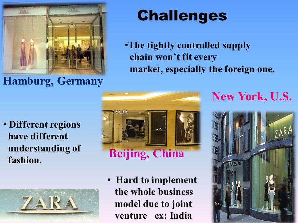 Challenges New York, U.S. Beijing, China Hamburg, Germany