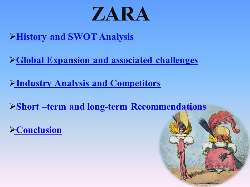 passion for fashion zara ppt video online  2 zara history and swot analysis