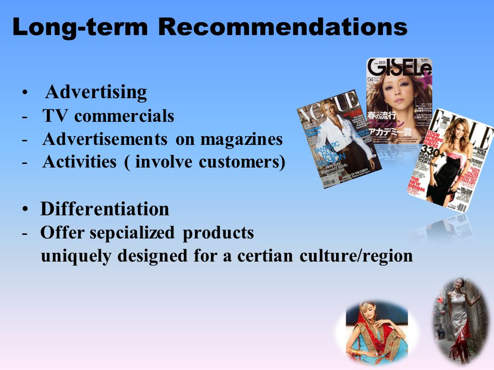 Long-term Recommendations