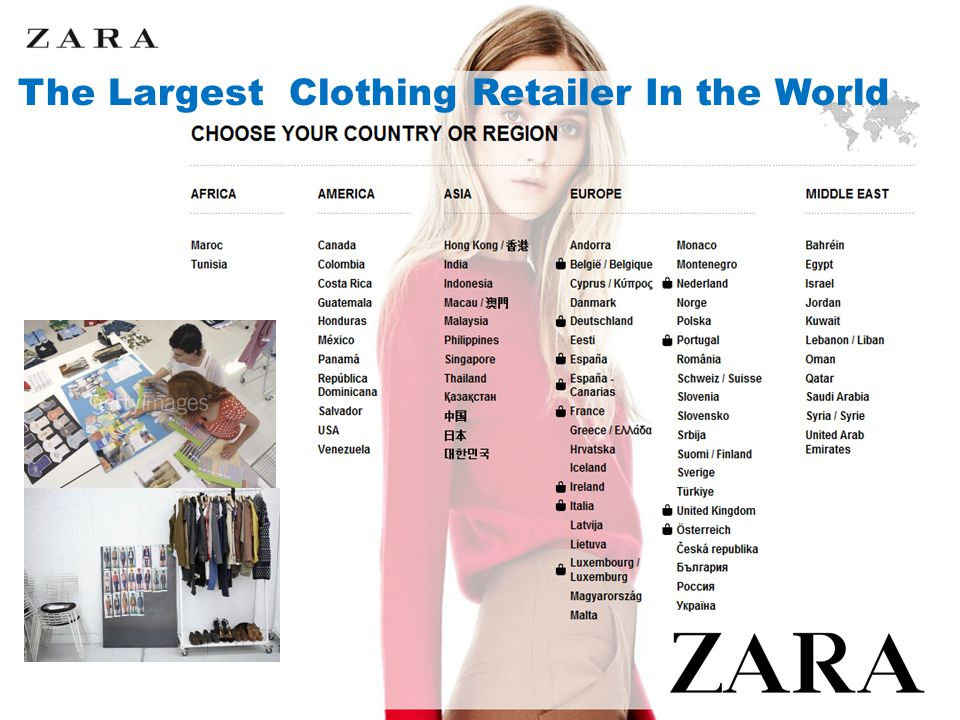 The Largest Clothing Retailer In the World