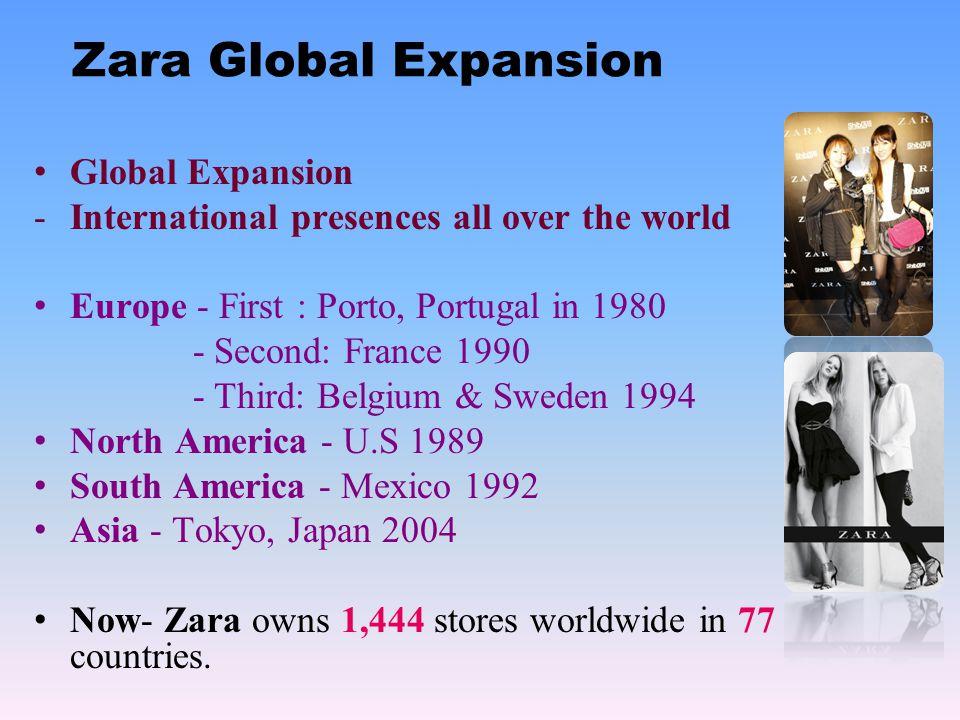 Zara Global Expansion Global Expansion