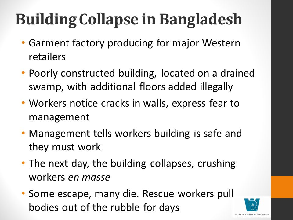 Building Collapse in Bangladesh