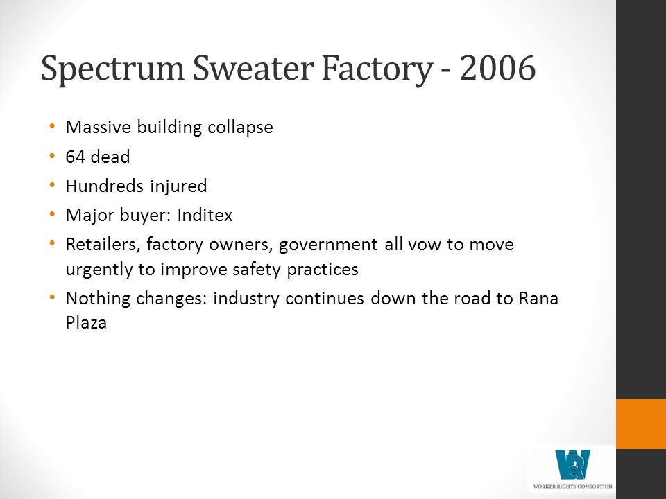 Spectrum Sweater Factory