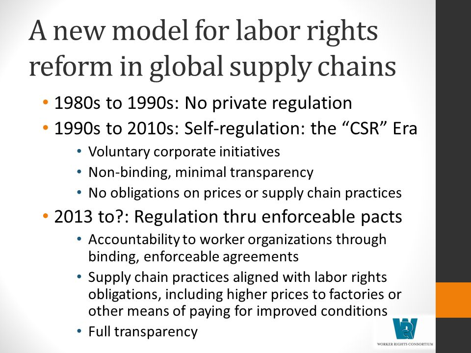 A new model for labor rights reform in global supply chains