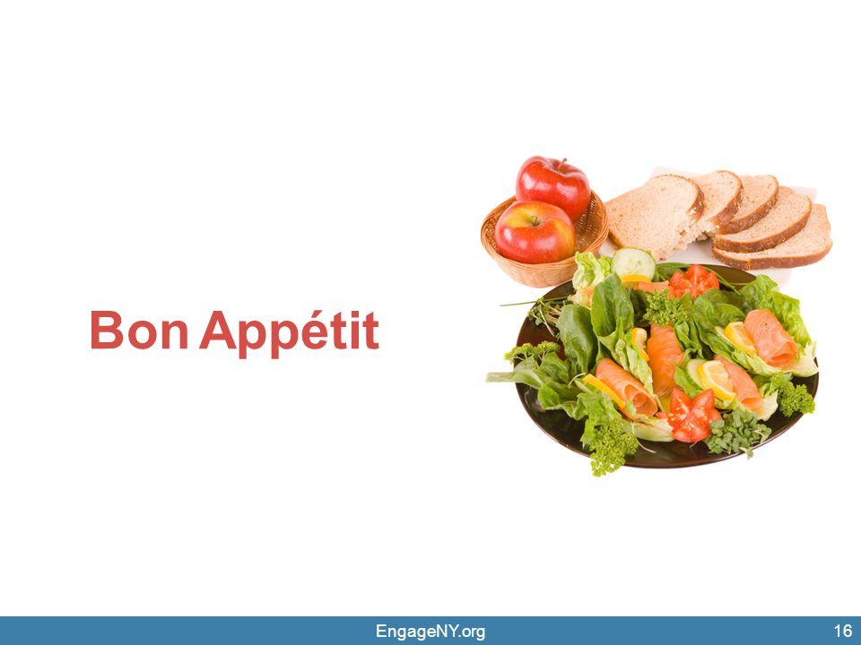 Bon Appétit EngageNY.org