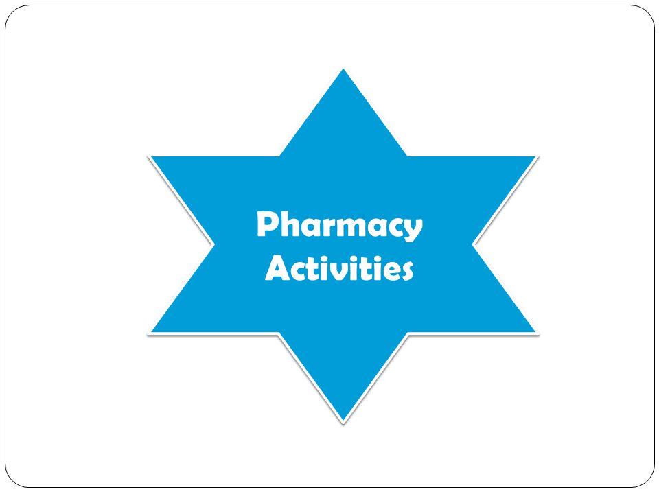 Pharmacy Activities
