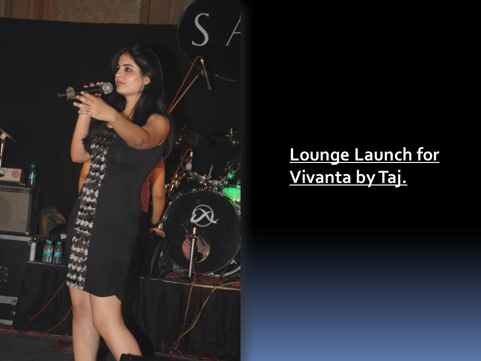 Lounge Launch for Vivanta by Taj.