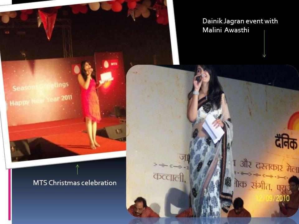 Dainik Jagran event with Malini Awasthi