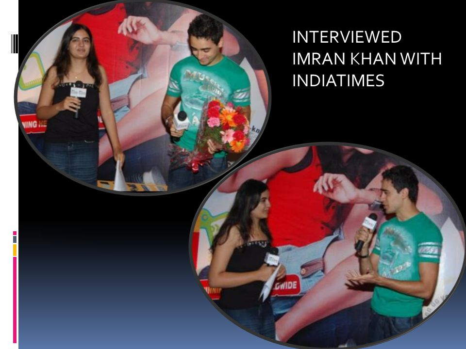 INTERVIEWED IMRAN KHAN WITH INDIATIMES