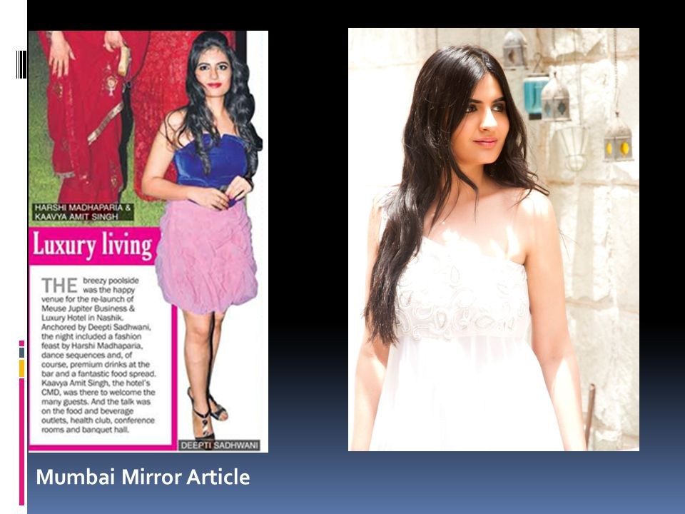 Mumbai Mirror Article
