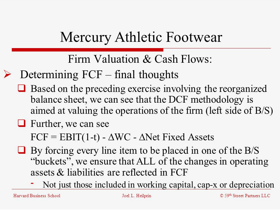 Mercury athletic valuing