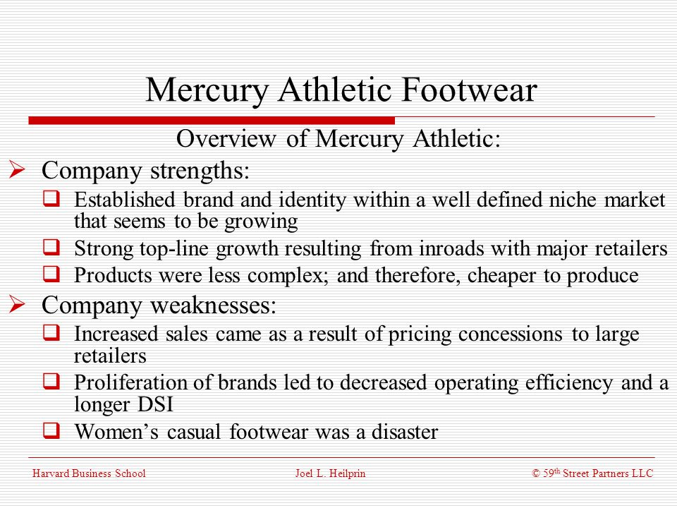 mercury athletic footwear solution Account marketing manager, footwear athletic specialty job in baltimore,   open-mindedness and drive to find a solution to every problem.
