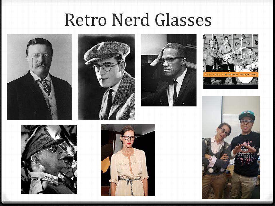 Retro Nerd Glasses Harold Lloyd popularized in 1917