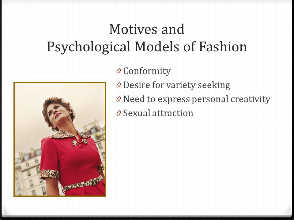 Motives and Psychological Models of Fashion