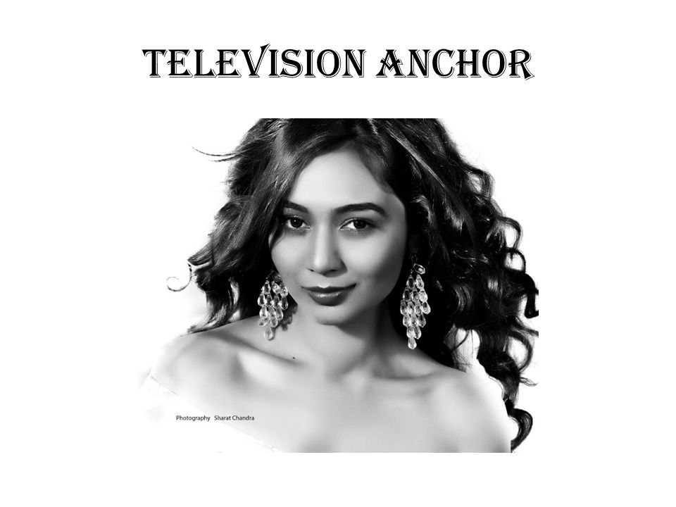 TELEVISION ANCHOR