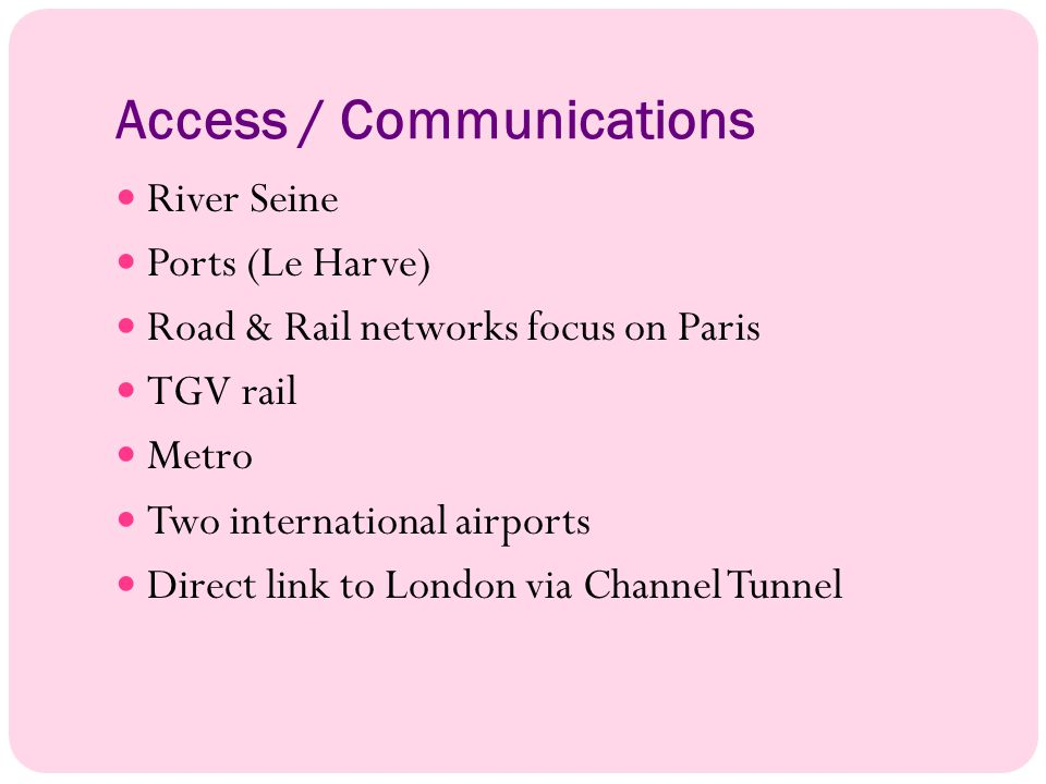 Access / Communications