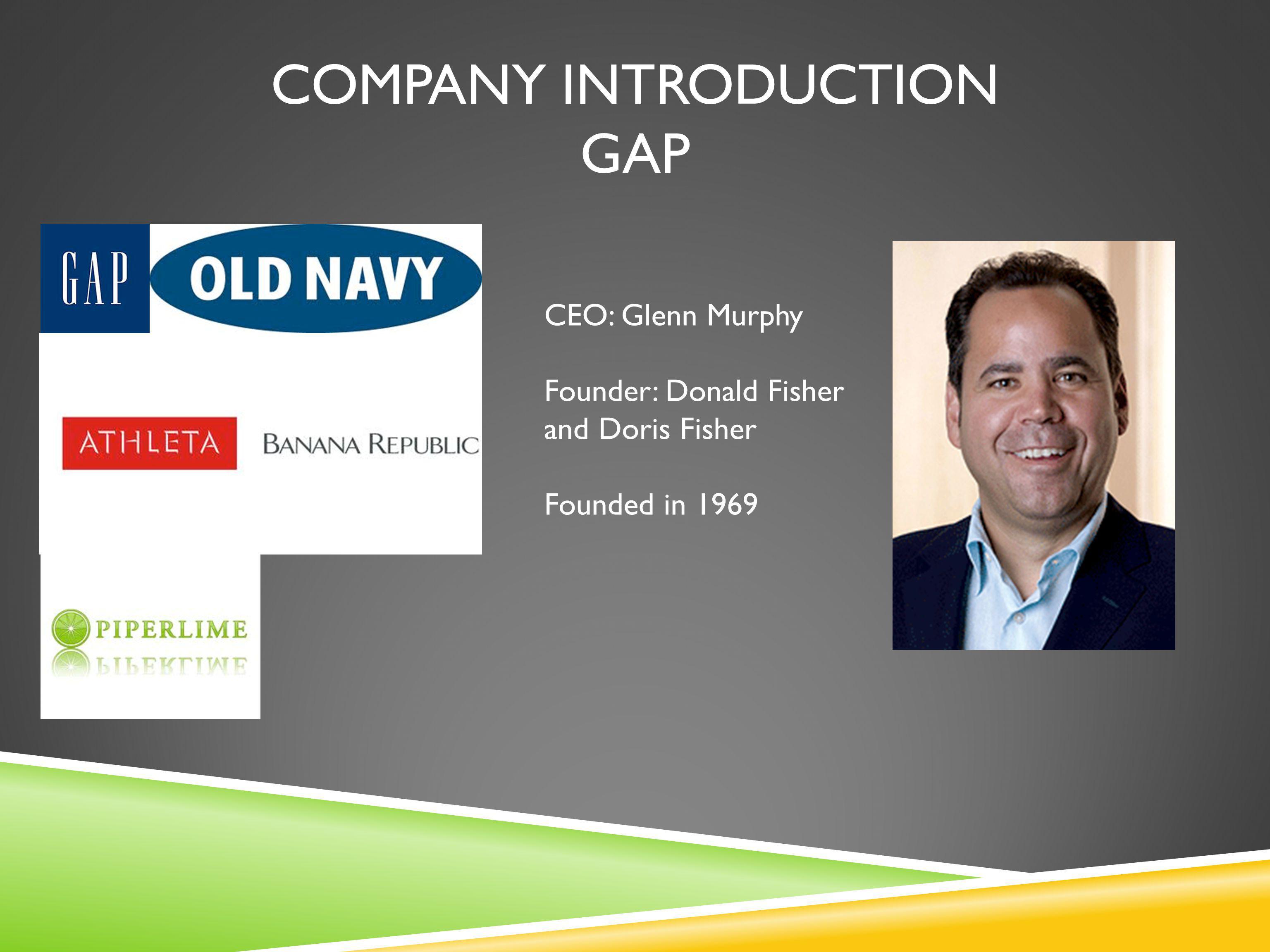 Company introduction gap