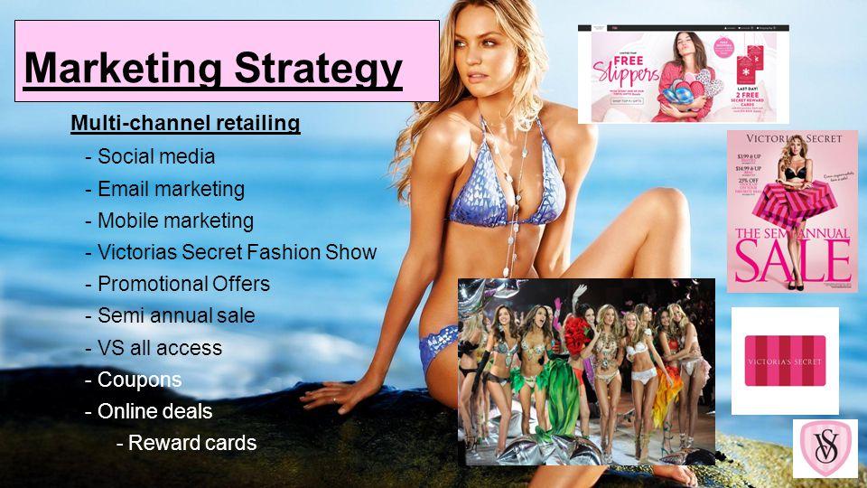 Marketing Strategy Multi-channel retailing - Social media