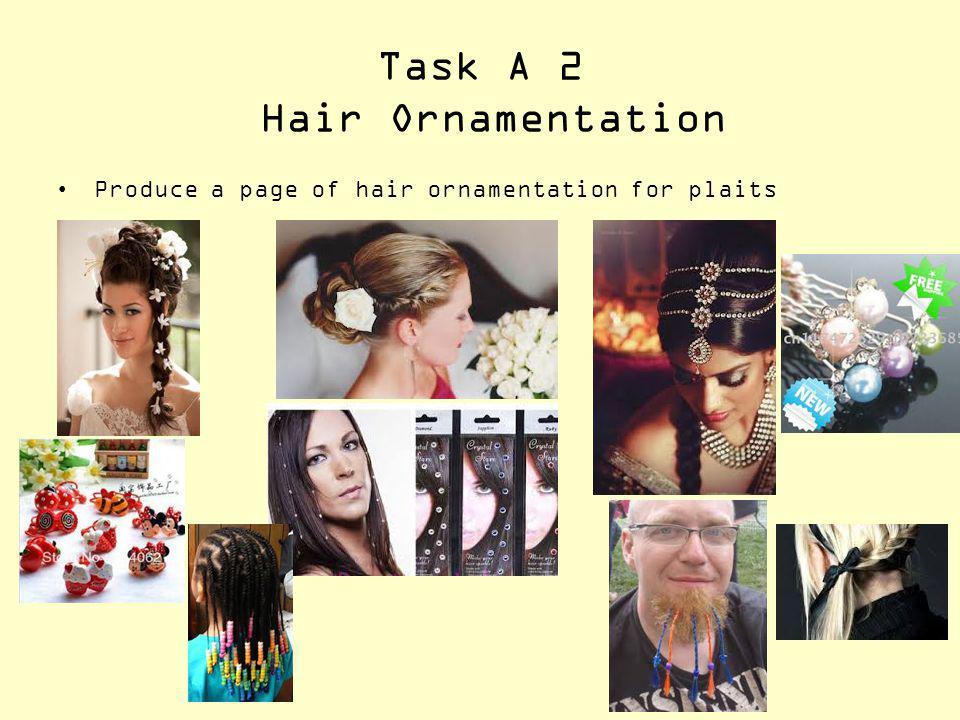 Task A 2 Hair Ornamentation