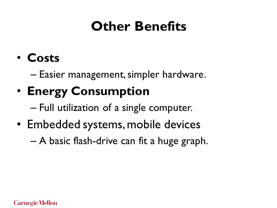 Other Benefits Costs Energy Consumption