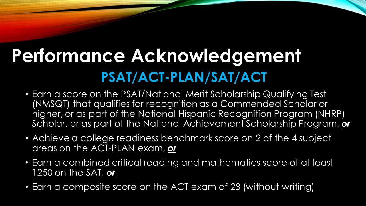 PSAT/ACT-PLAN/SAT/ACT