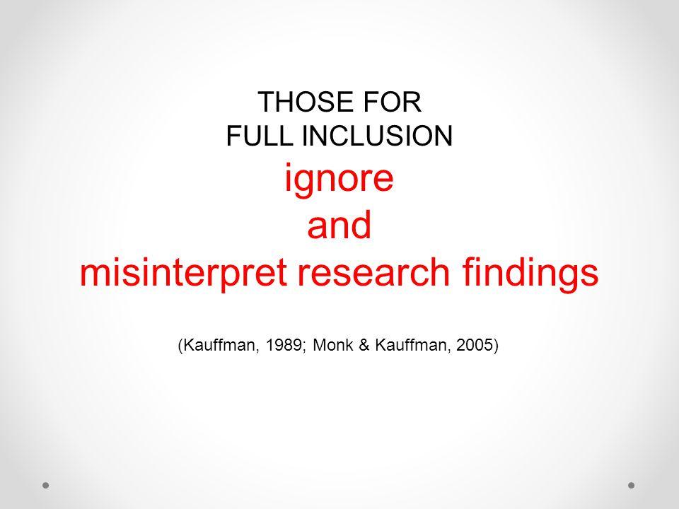 misinterpret research findings