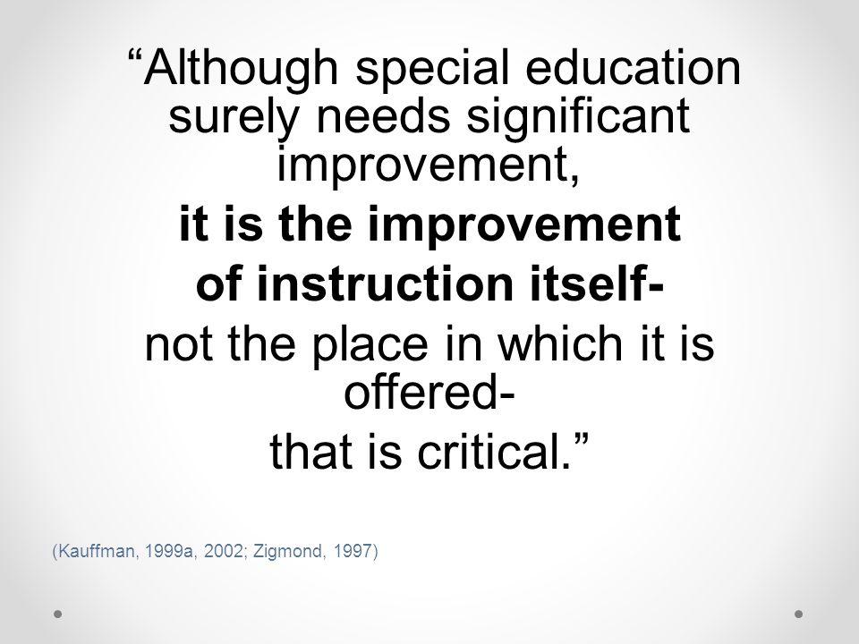 of instruction itself-
