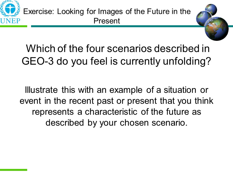 Exercise: Looking for Images of the Future in the Present