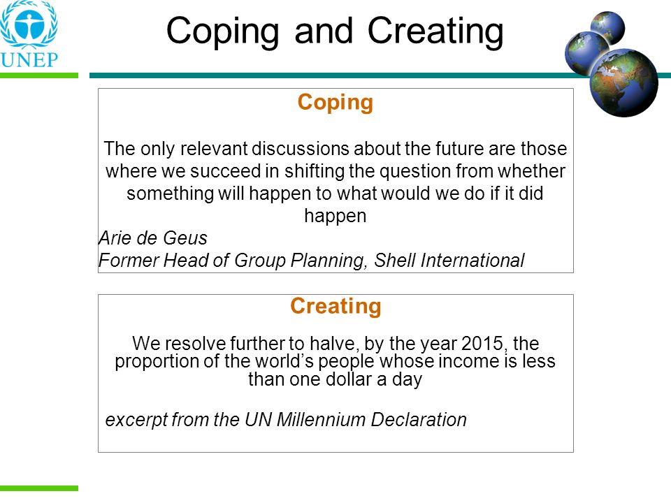 Coping and Creating Coping Creating