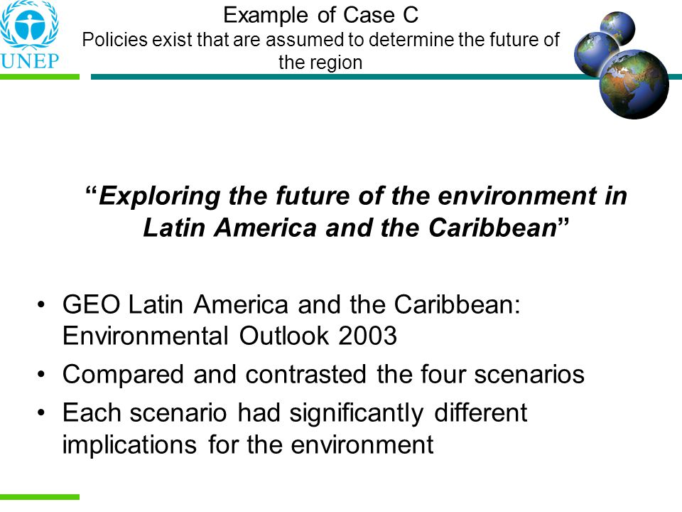 GEO Latin America and the Caribbean: Environmental Outlook 2003
