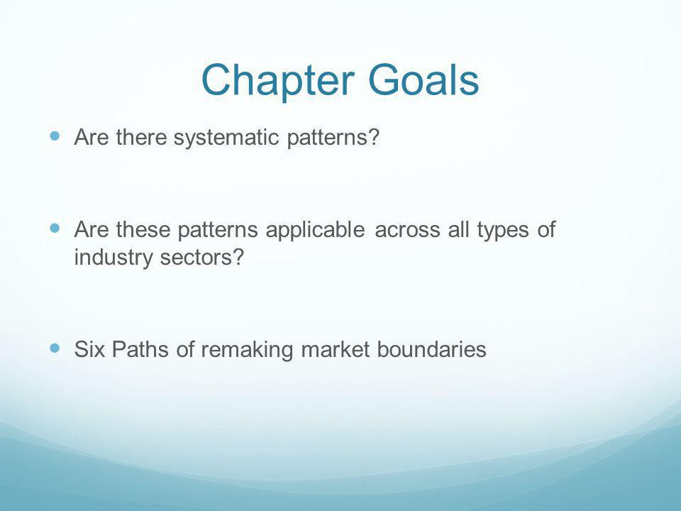 Chapter Goals Are there systematic patterns