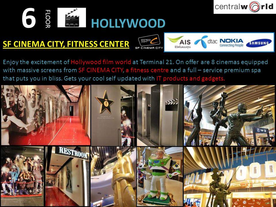 6 HOLLYWOOD SF CINEMA CITY, FITNESS CENTER FLOOR