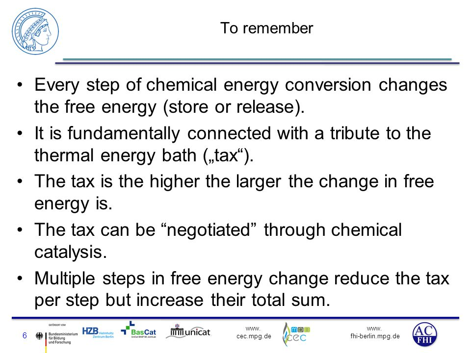 The tax is the higher the larger the change in free energy is.