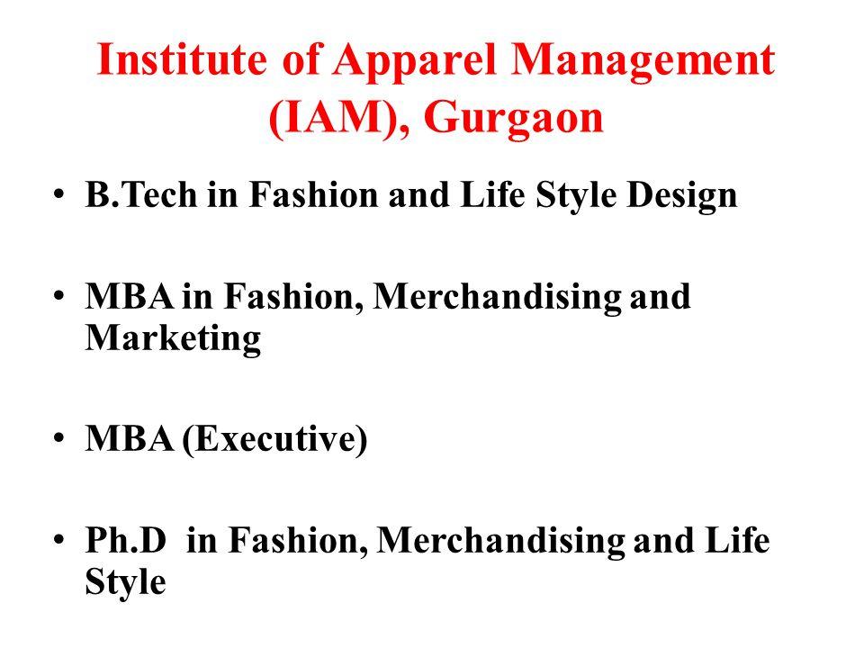 Institute of Apparel Management (IAM), Gurgaon