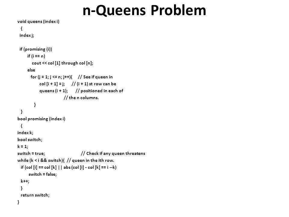 n-Queens Problem