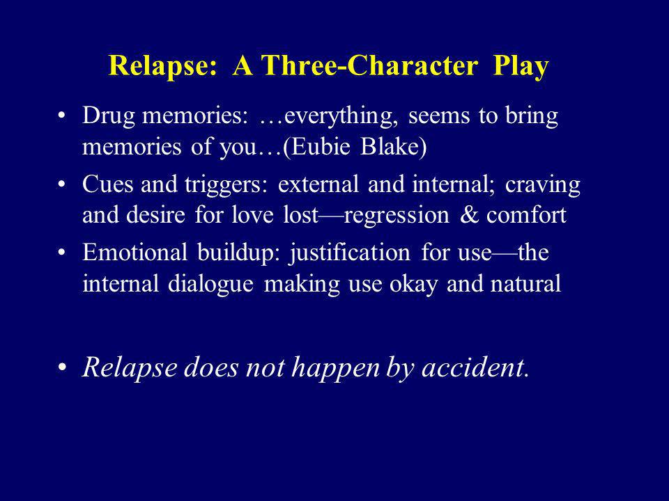 Relapse: A Three-Character Play