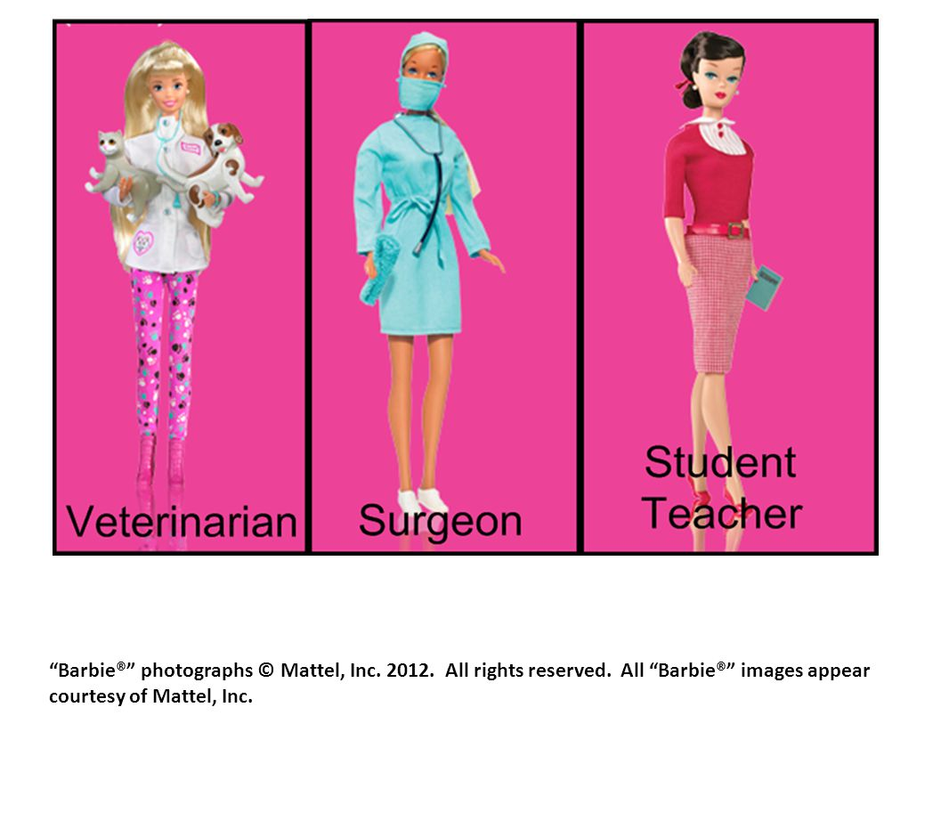 Barbie® photographs © Mattel, Inc All rights reserved