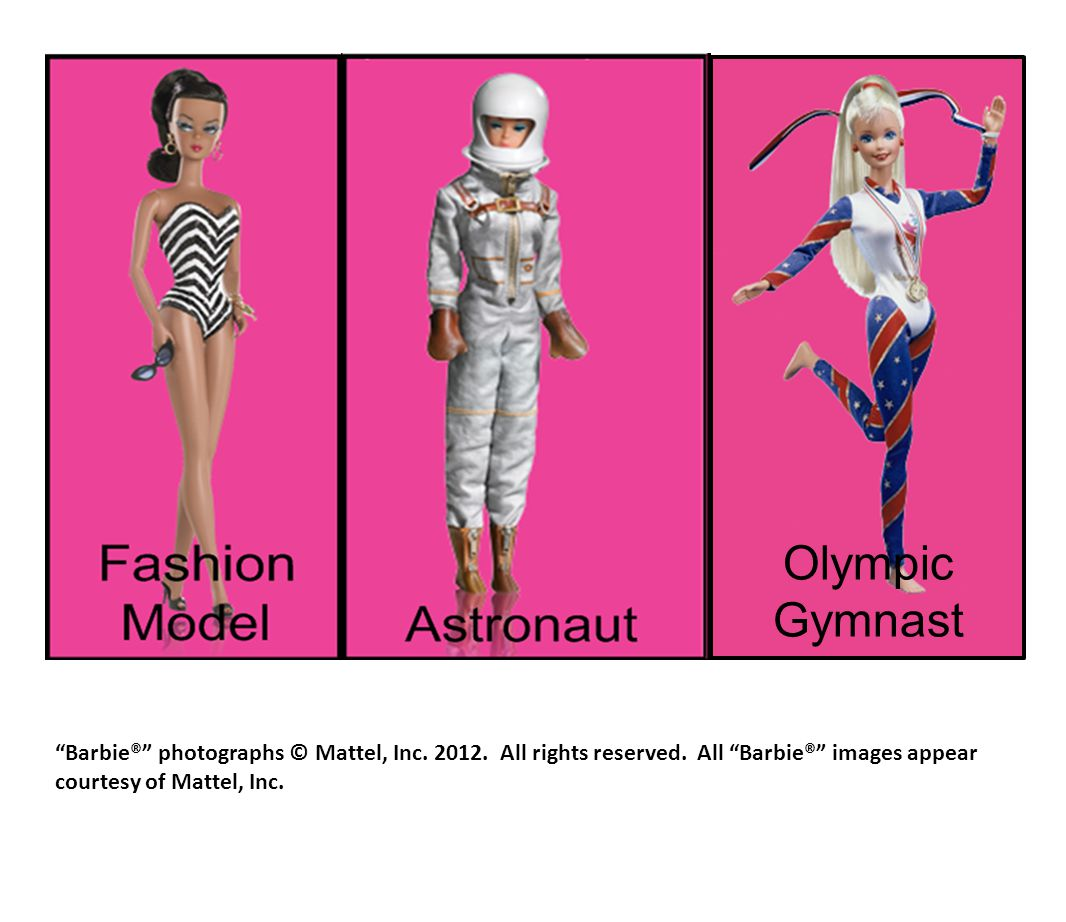 Olympic Gymnast Barbie® photographs © Mattel, Inc.