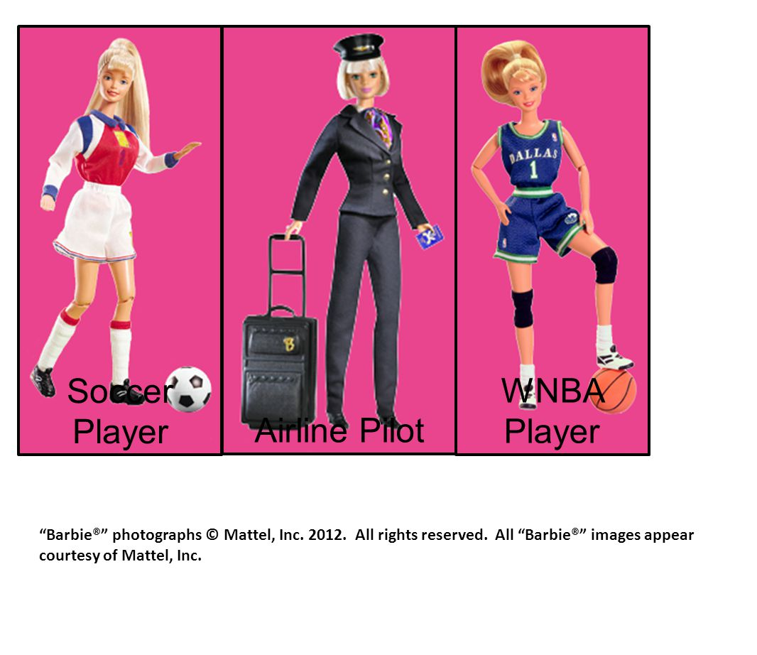 Soccer Player WNBA Player Airline Pilot