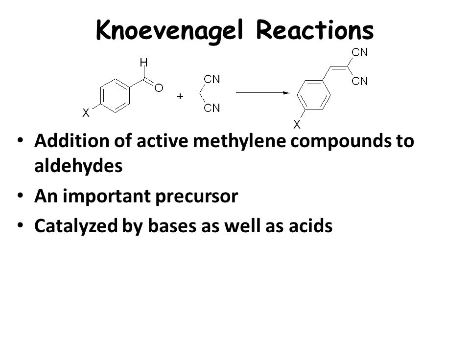 Knoevenagel Reactions