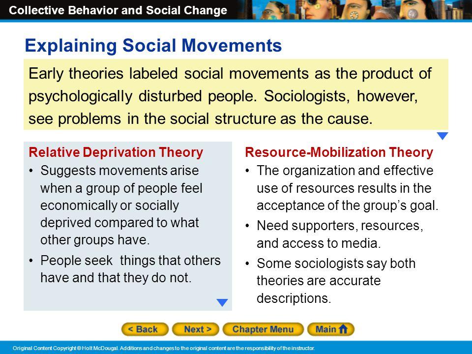 Explaining Social Movements