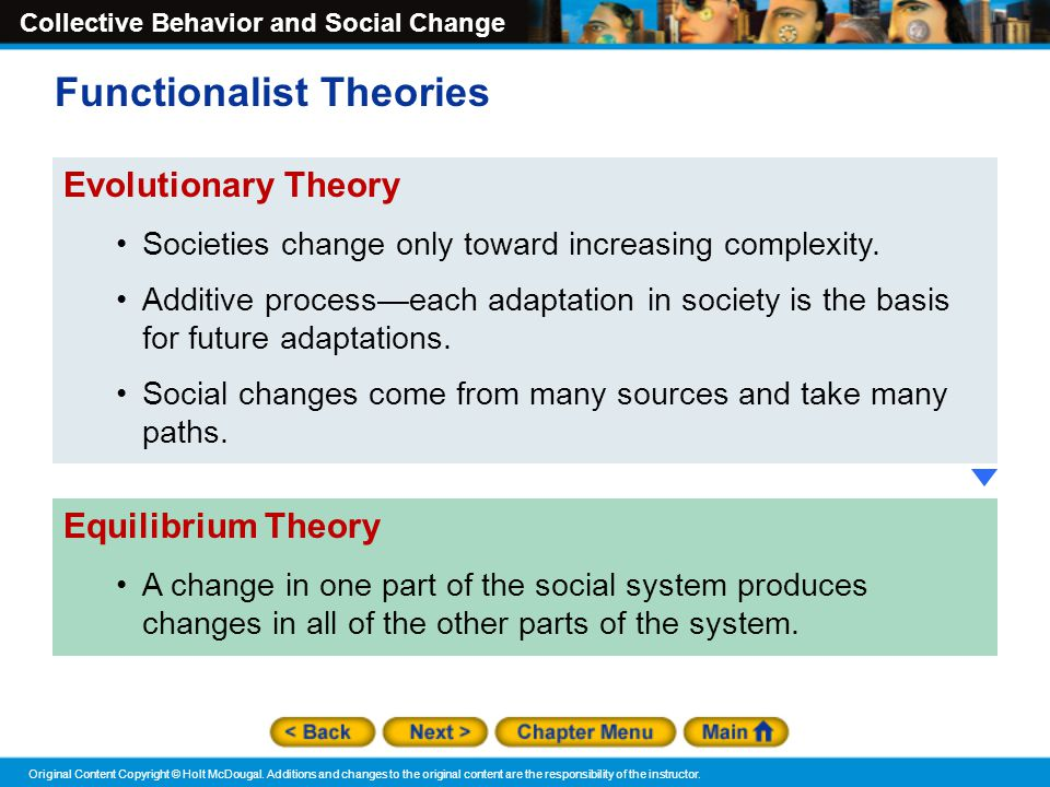 Functionalist Theories