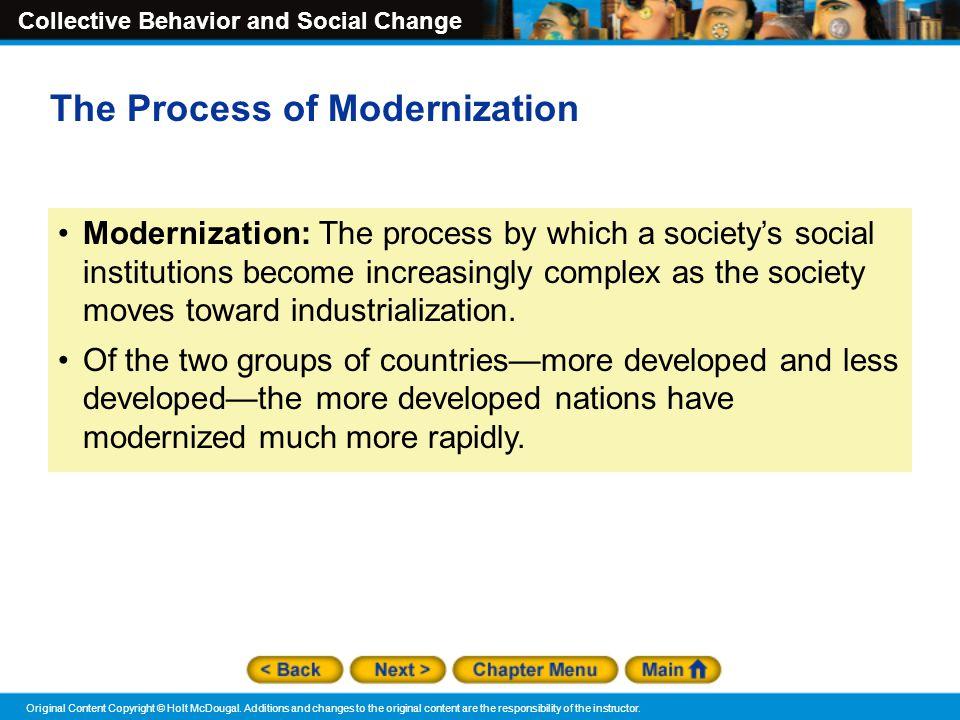 The Process of Modernization