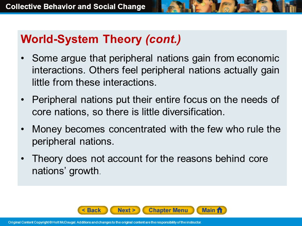 World-System Theory (cont.)